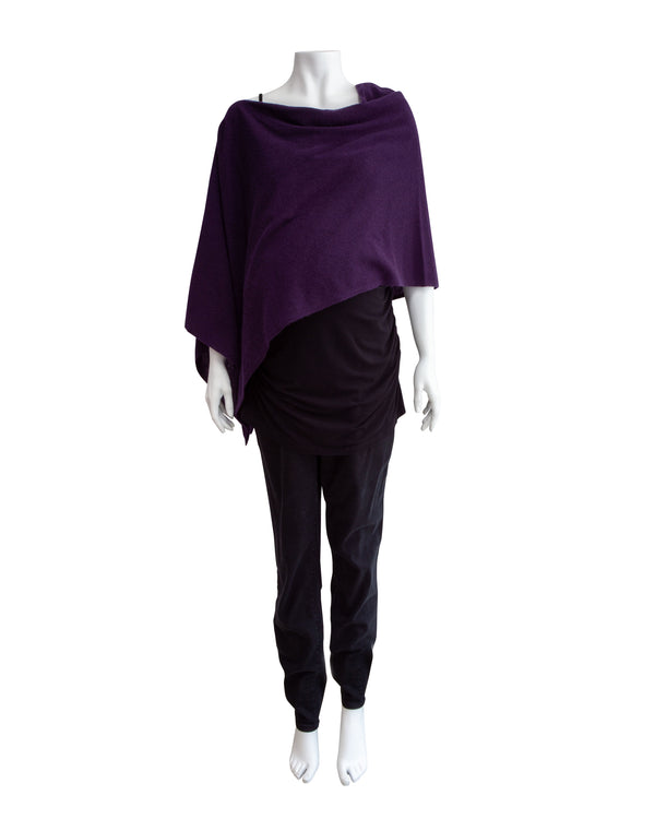 Cashmere Poncho with Tags