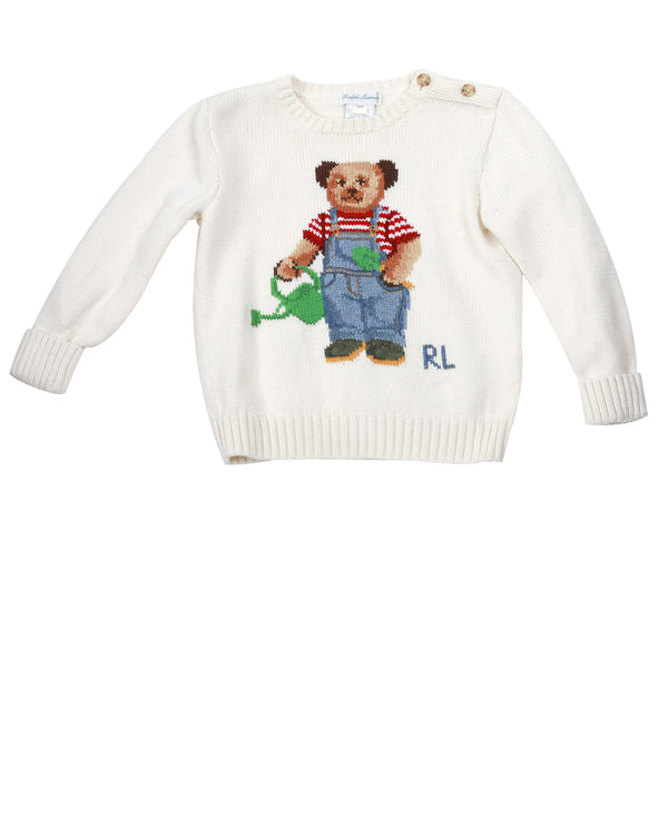 Garden Teddy Sweater