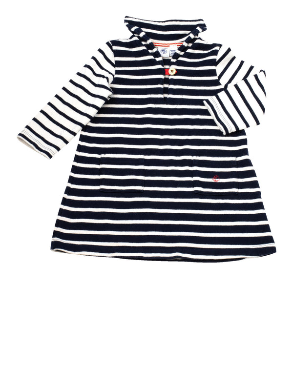LS Stripe Sailor Dress