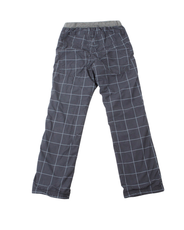 Windowpane Check Pull-on Pant