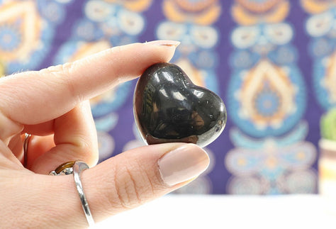 Shungite Heart | Protection Gift for Her