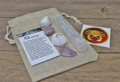 Cancer Sun Sign Crystal Pack