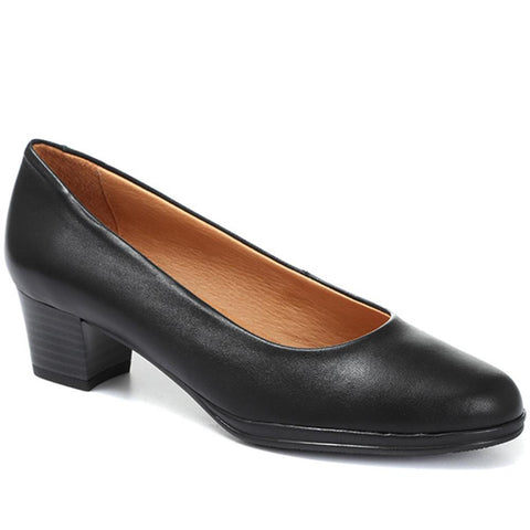 Leather Court Shoe - MENO30000 / 316 939 Leather Court Shoe