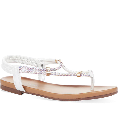 Diamante Toe-Post Sandals - BELBAIZH31031 / 317 821 Diamante Toe-Post Sandals