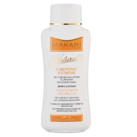 CAROTONIC EXTREME BODY LOTION SPF 15