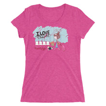 Load image into Gallery viewer, I love travel .Ladies' short sleeve t-shirt