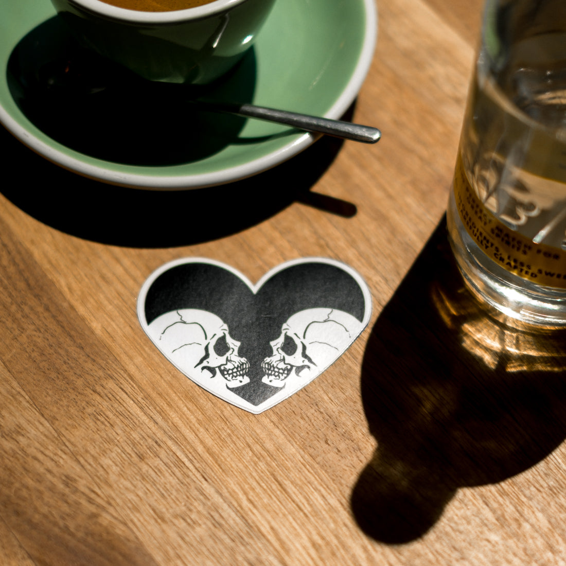 Endemic Ink Mirrored Love Sticker