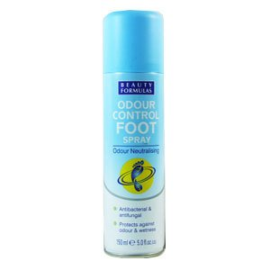 Beauty Formulas Odour Control Foot Spray 150ml