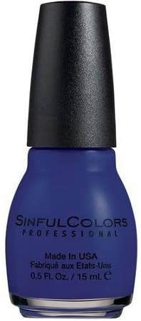 Sinful Color Professional Nail Colour Polish Varnish  - #1354 Navy I Do