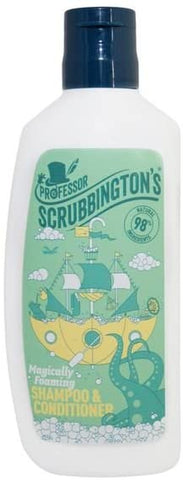 Professor Scrubbingtons Childrens Magically Foaming 2 in 1 Shampoo & Conditioner 150ml