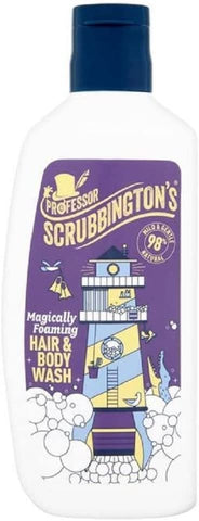 Professor Scrubbingtons Childrens Magically Foaming Childrens Hair & Body Wash 150ml