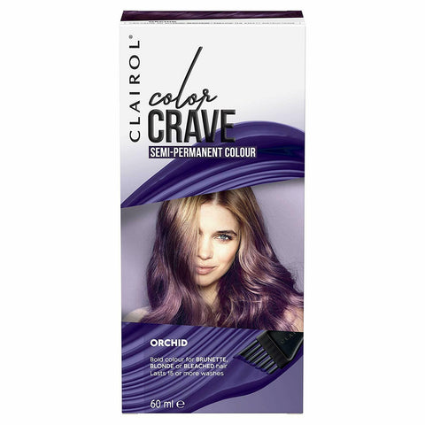 Clairol Colour Crave Semi Permanent Hair Colour 15 Washes - Orchid