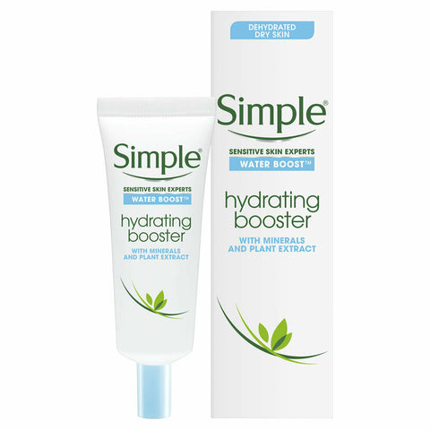 Simple Water Boost Hydrating Booster For Dry Dehydrated Skin - 25ml