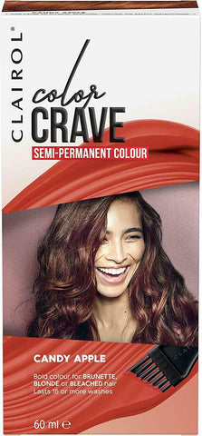 Clairol Color Crave Semi-Permanent Hair Colour 60ml - Candy Apple