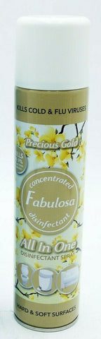 Fabulosa All In One Hard Soft Surfaces Spray 400ml Precious Gold