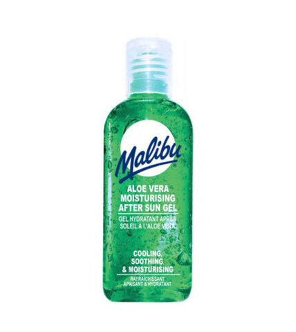 Malibu Aloe Vera Moisturising After Sun Gel 100ml Handy Travel Size