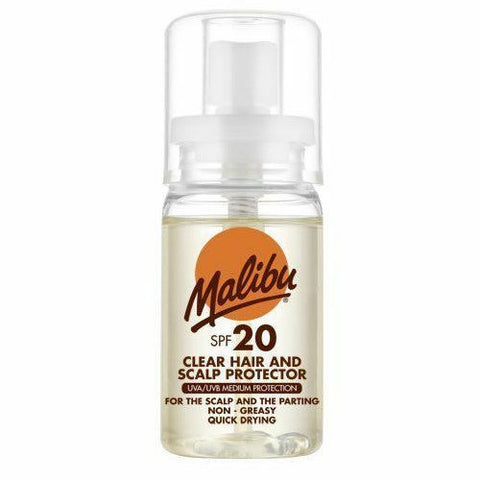 Malibu Clear Scalp & Hair Sun Protector Water Resistant with SPF20 50ml