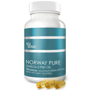 Nordic Norway Omega 3 Fish Oil Softgels