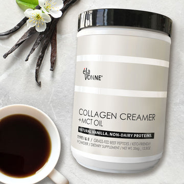 Collagen Creamer + MCT Oil (Vanilla)