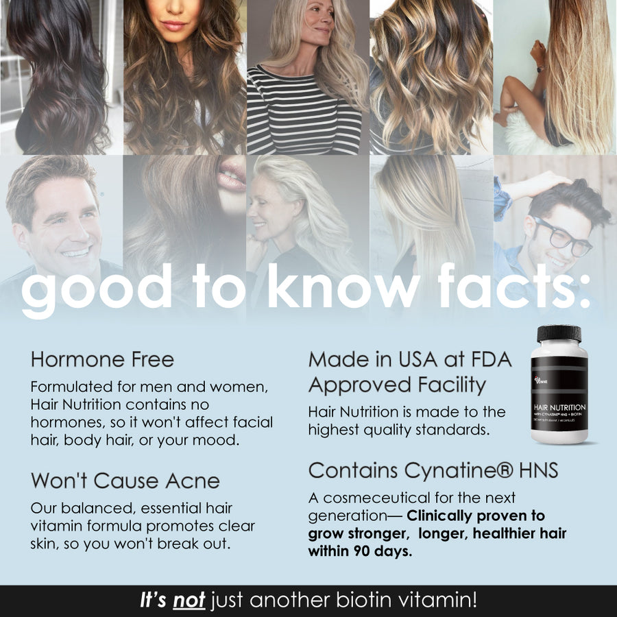 hair vitamin facts