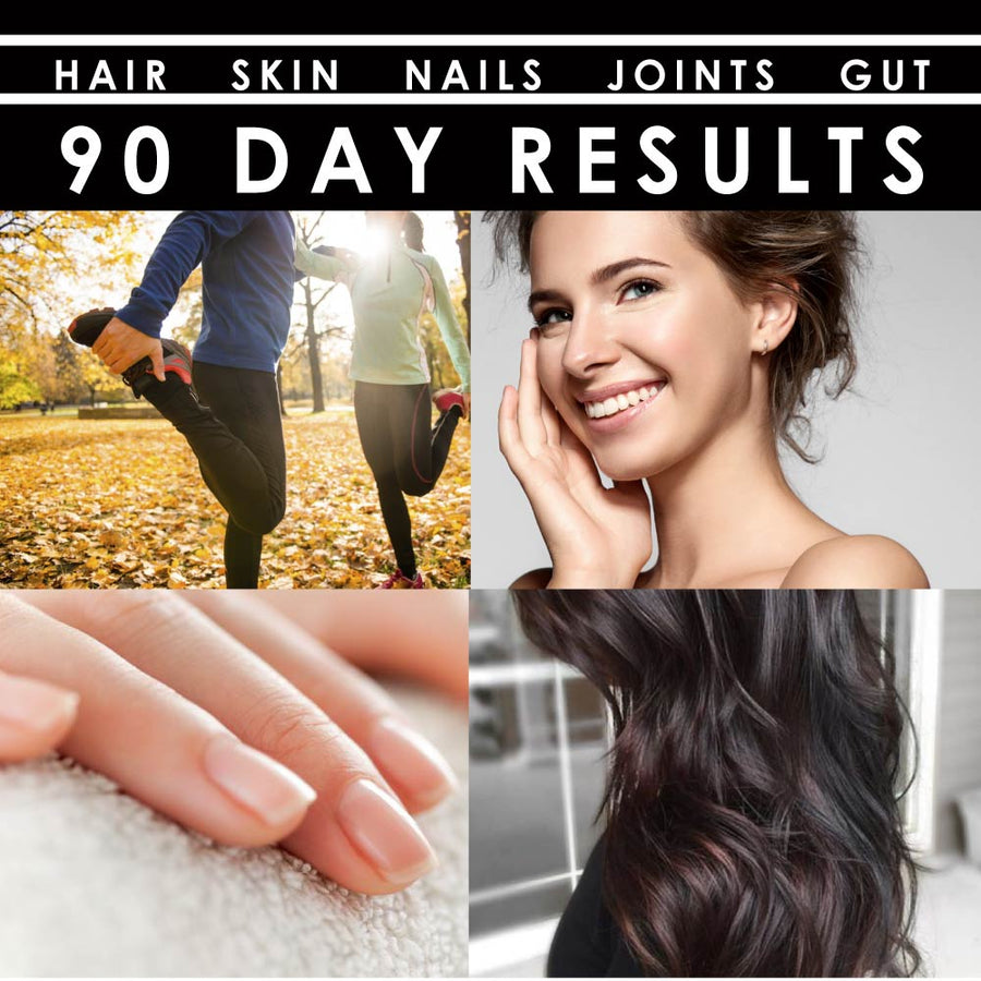 hair skin nails supplement results