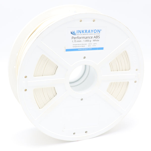 INKRAYON® | Performance ABS - White - 3D Druck Filament