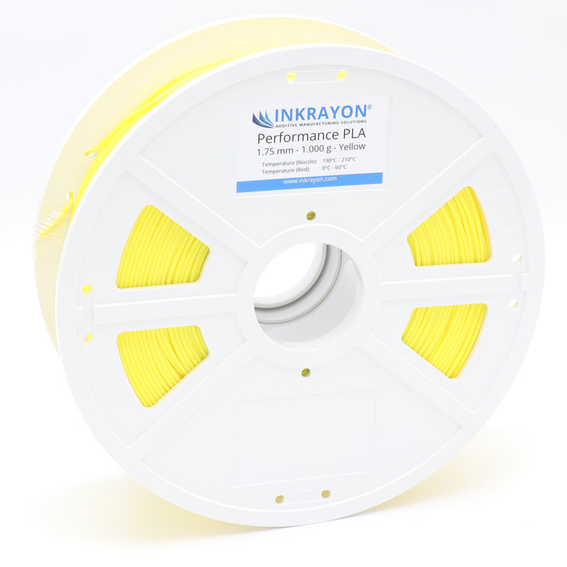 INKRAYON® | Performance PLA - Yellow - 3D Druck Filament