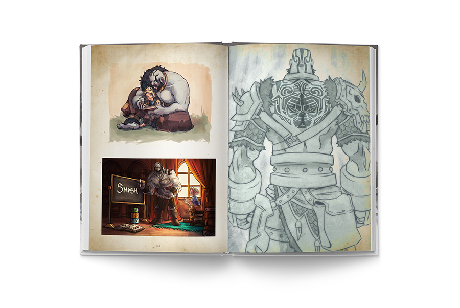 The Chronicles of Exandria Vol. II: The Legend of Vox Machina Art Book Standard Edition