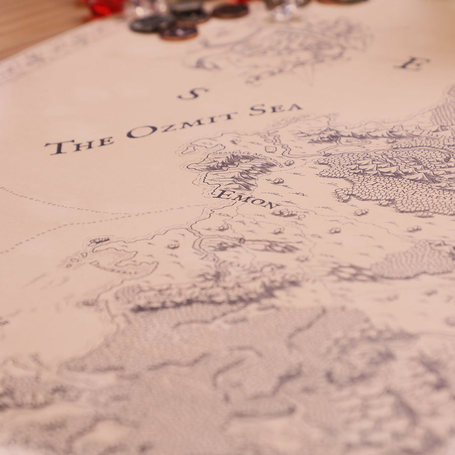 Critical Role Tal'Dorei Map
