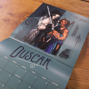 Exandrian Art Print Pin-up Calendar