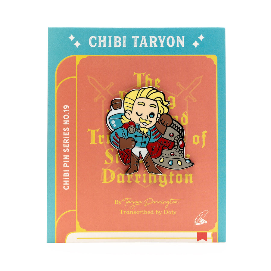 Critical Role Chibi Pin No. 19 - Taryon