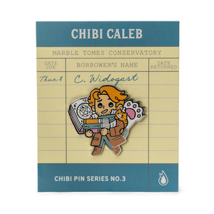 Critical Role Chibi Pin No. 3 - Caleb