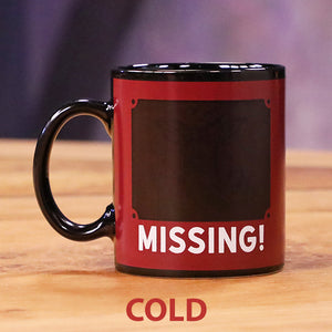 Search For Grog/Bob Heat Activated Coffee Mug