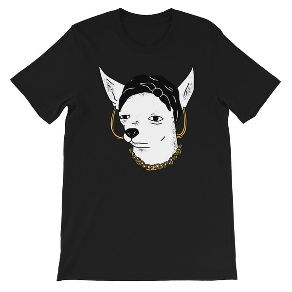 Chihuahua Chola Men's T-Shirt Black
