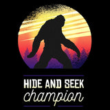 Hide and Seek Champion - FunnyTeesLOL