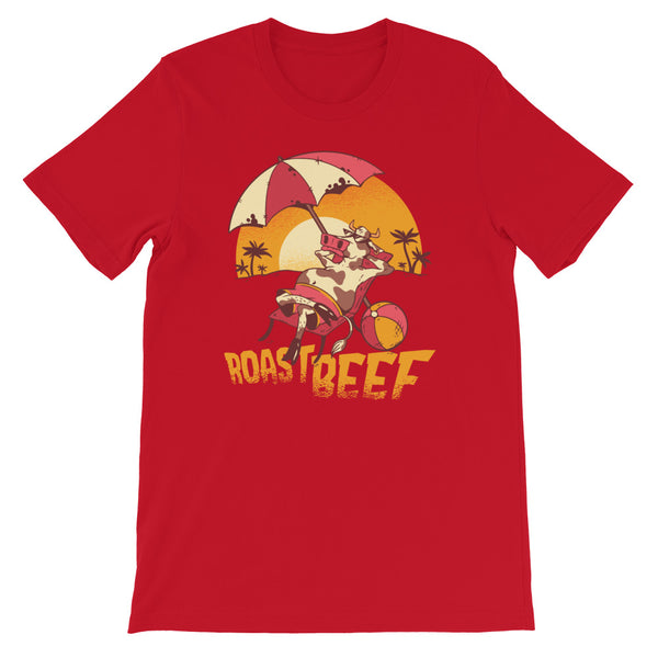 Roast Beef Men's T-Shirt Red
