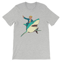 Trump Shark Men's T-Shirt Athletic Heather