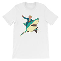 Trump Shark Men's T-Shirt White