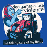 Video Games Cause Violence - FunnyTeesLOL