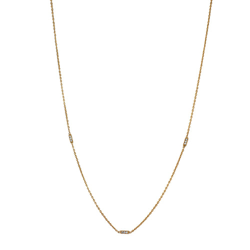 14k-gold-minimal-necklace-accented-bar-mini-diamond-pave-rectangles-sustainable-ethical-eiv-handmade-jewelry-jewellery-basics-european