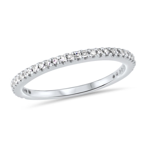 TIA PAVE DIAMOND RING