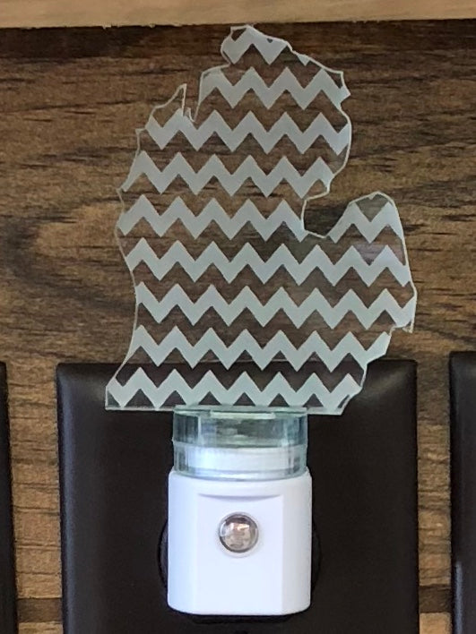 Chevron MI LED Nightlight