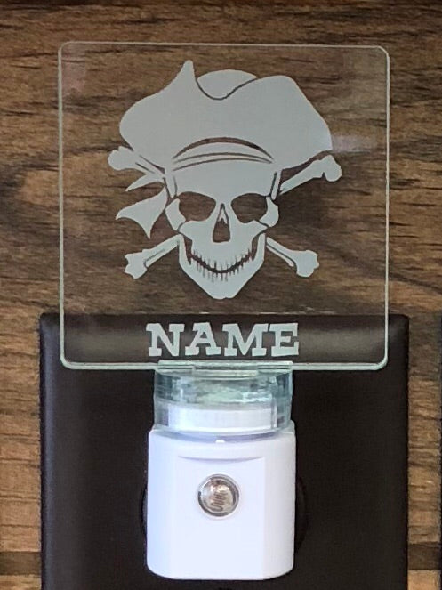 Pirate Personalized LED Nightlight