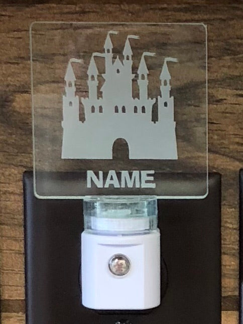 Castle Personalized LED Nightlight