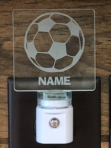 Soccer Personalized LED Nightlight