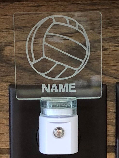 Volleyball Personalized LED Nightlight