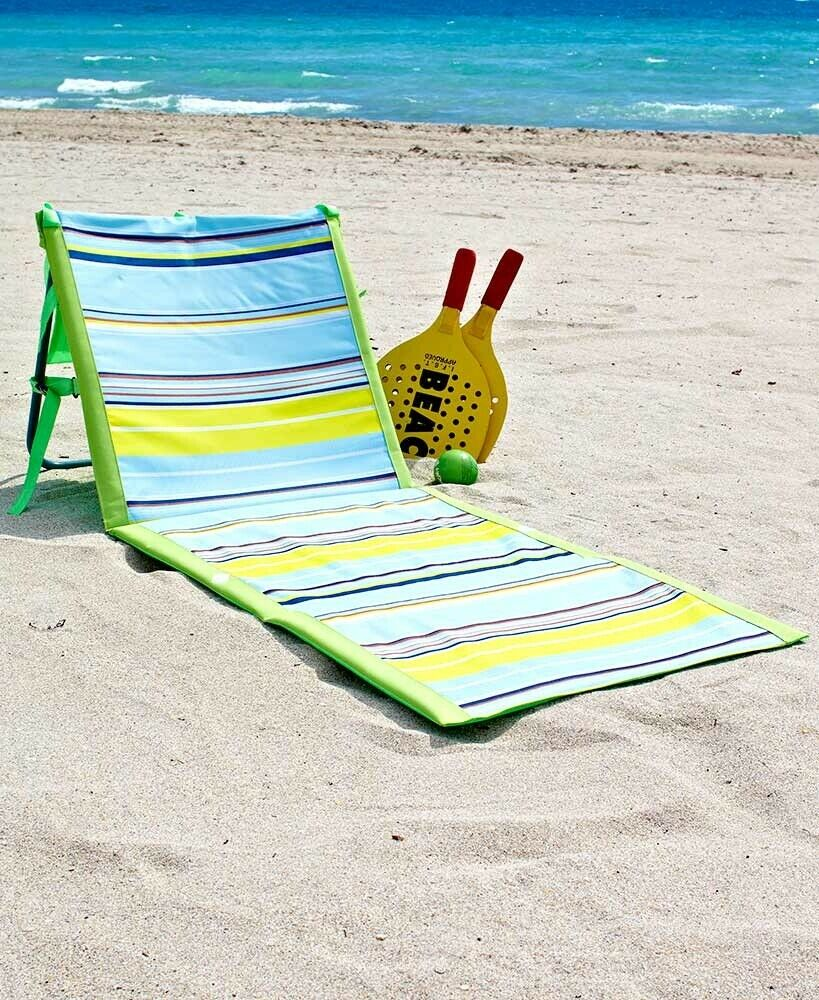 Sensational Chaise Lounge Chair Outdoor Folding Reclining Beach Lounger Green Caraccident5 Cool Chair Designs And Ideas Caraccident5Info
