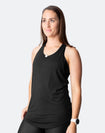 Breastfeeding Top - Rise Up Tank Black