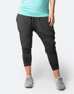 best grey maternity harem pants
