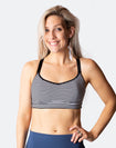 High Impact Racerback Sports Bra - Fit2feed Bra Stripe